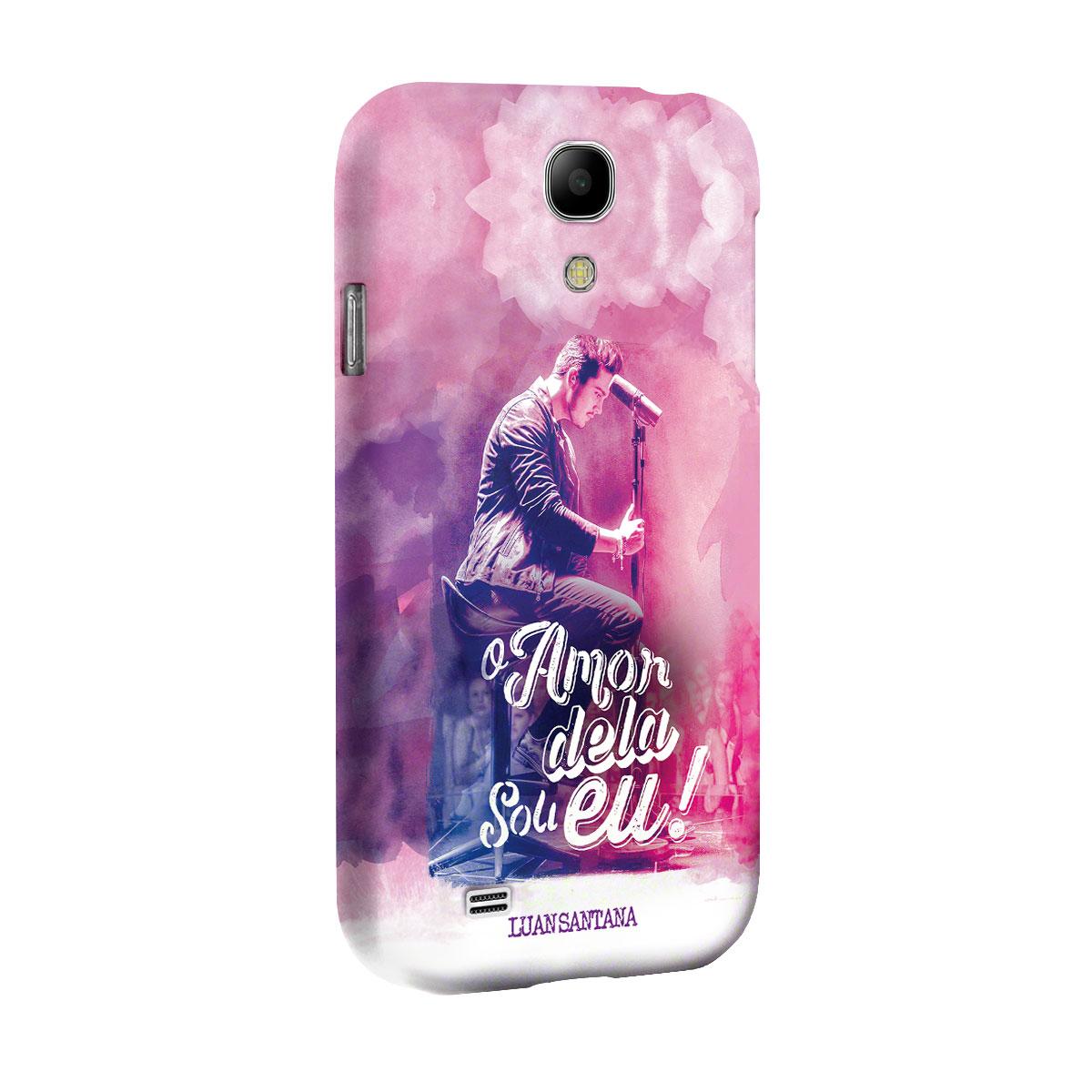 Capa para Samsung Galaxy S4 Luan Santana O Amor Dela Sou Eu