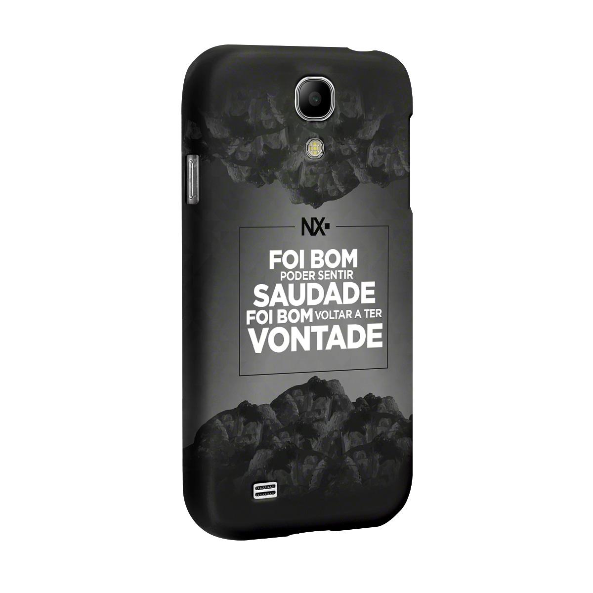 Capa para Samsung Galaxy S4 NXZero Voltar a Ter Vontade