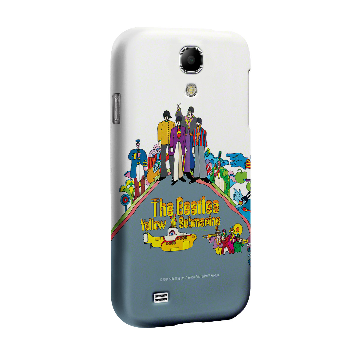 Capa para Samsung Galaxy S4 The Beatles Yellow Submarine Nothing Is Real