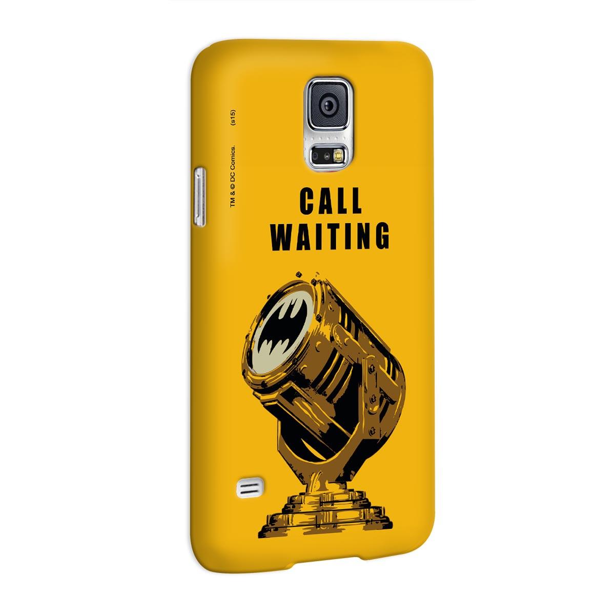Capa para Samsung Galaxy S5 Batman Chamada em Espera