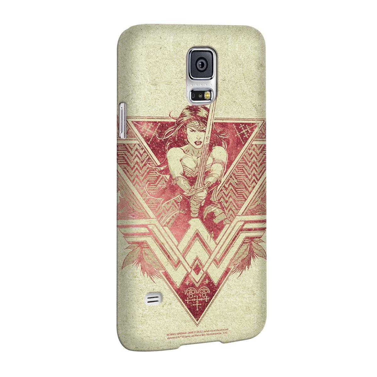 Capa para Samsung Galaxy S5 Wonder Woman Warrior