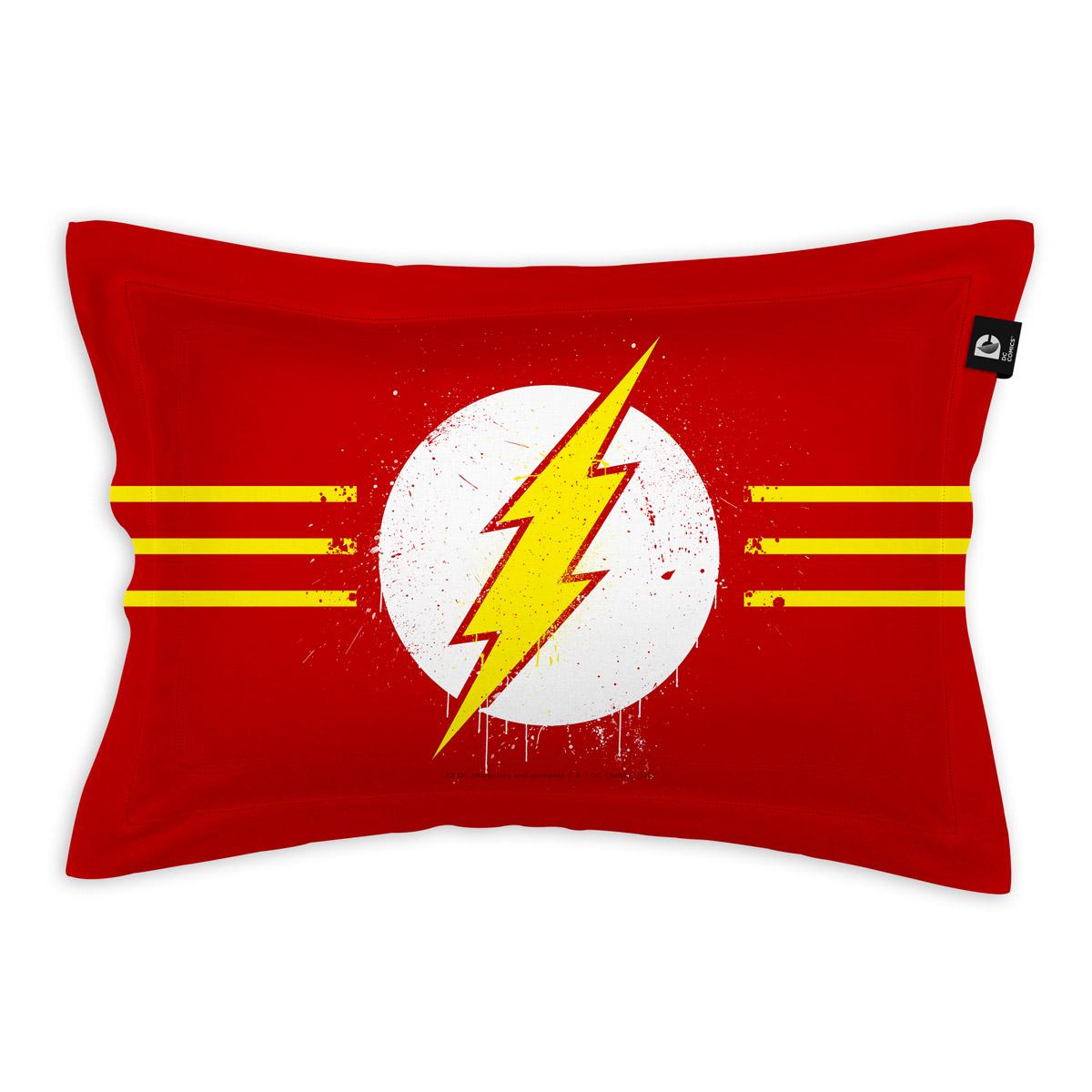 Capa para Travesseiro The Flash Logo