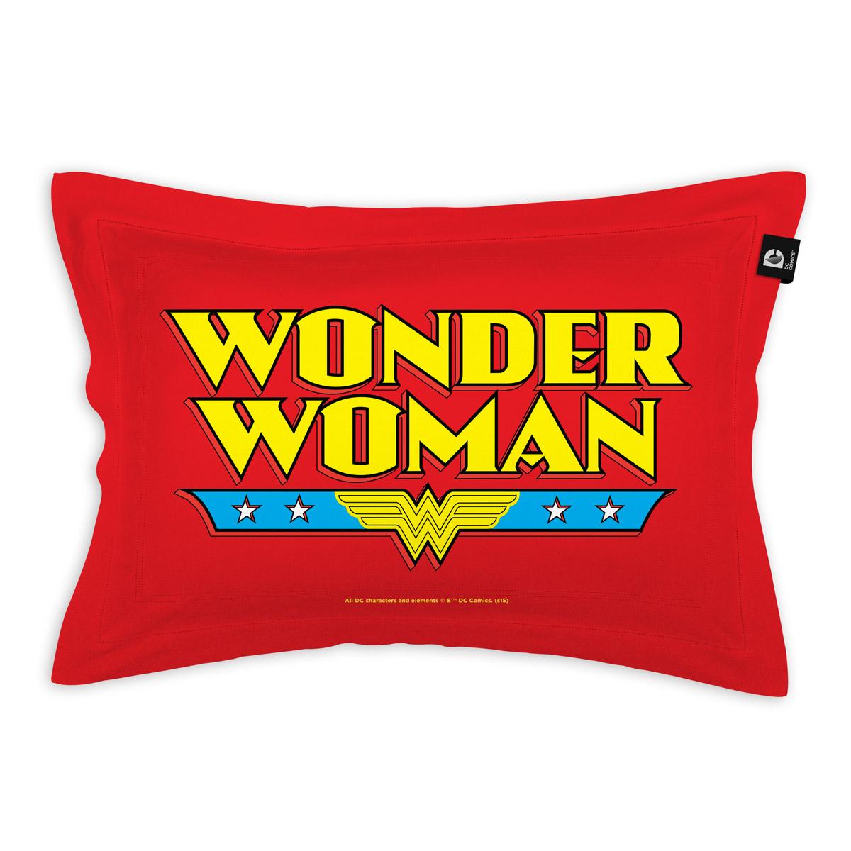 Capa para Travesseiro Wonder Woman