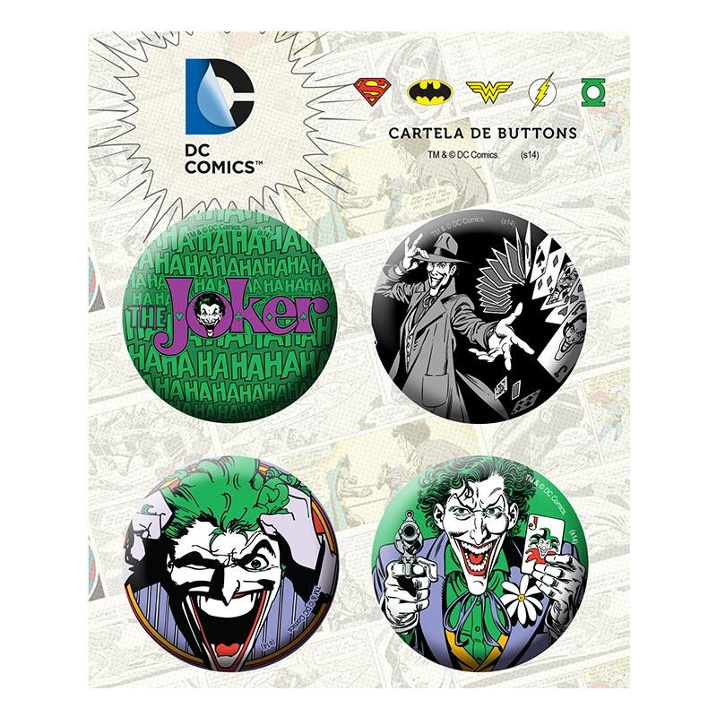 Cartela de Buttons The Joker