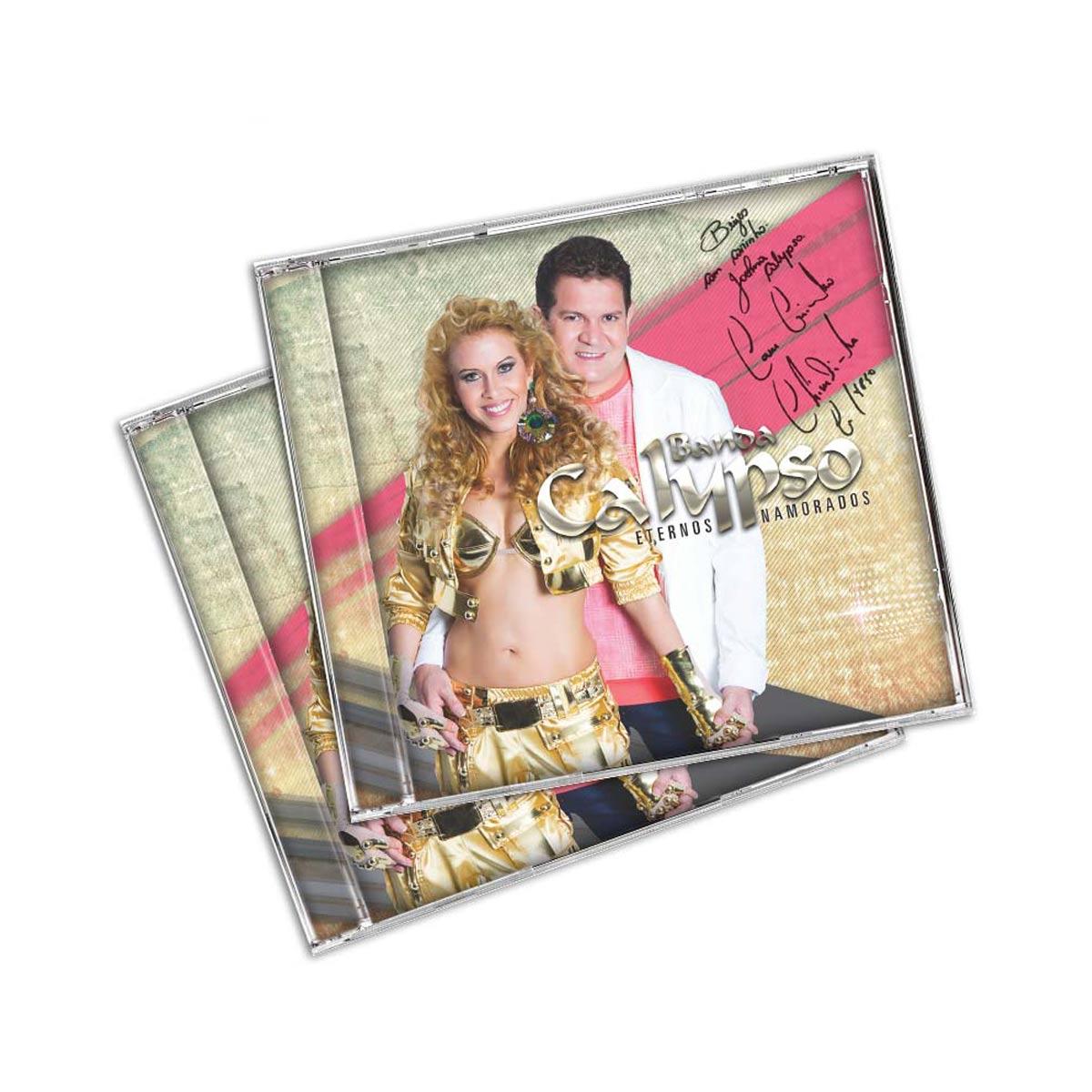 CD AUTOGRAFADO Calypso Eternos Namorados