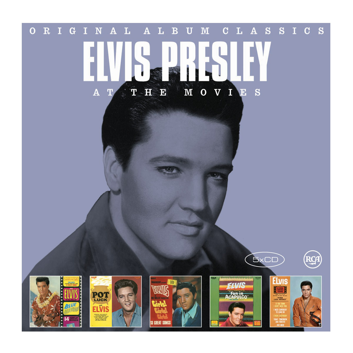CD Box Elvis - Original Album Classics