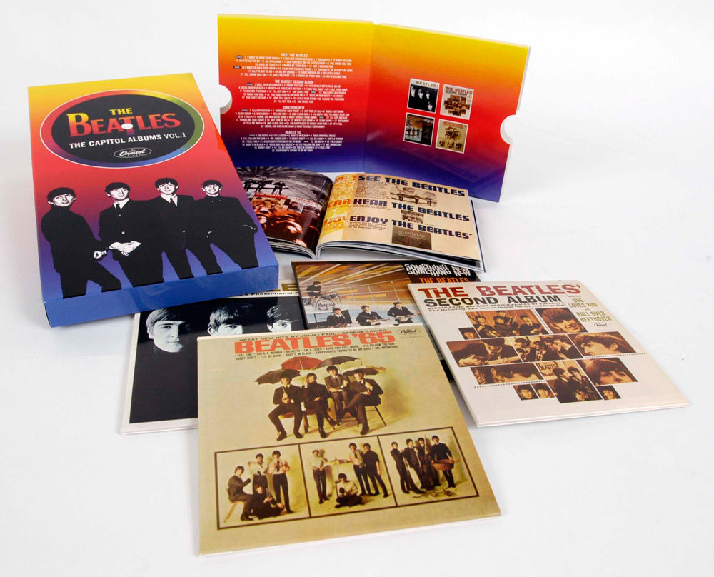 Produto IMPORTADO CD Box The Beatles - The Capitol Albums Volume 1