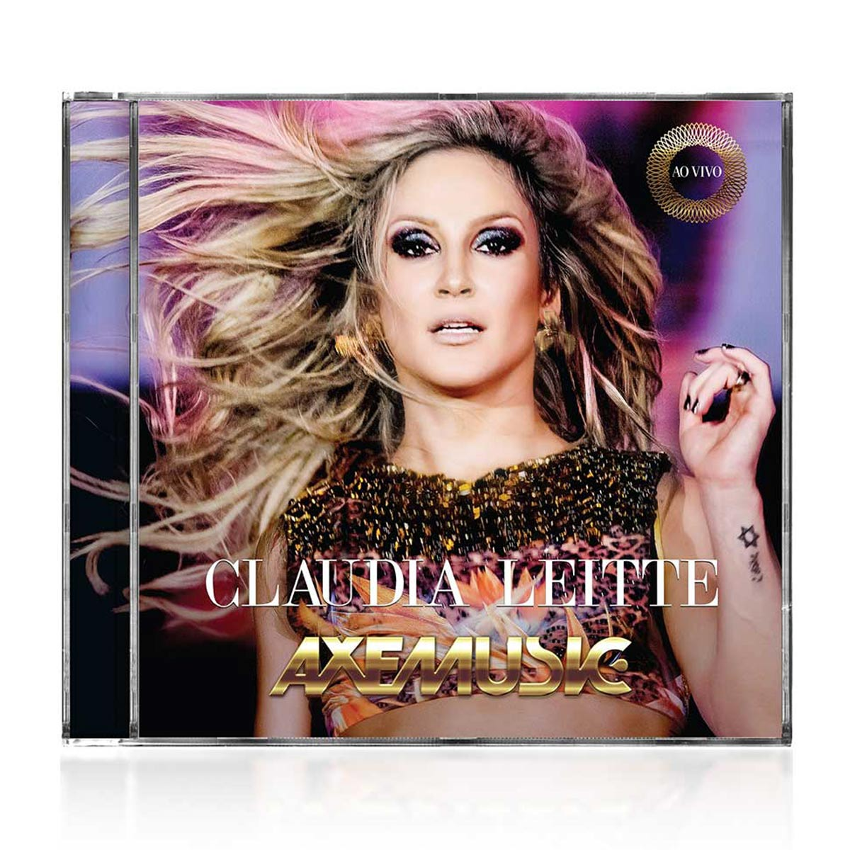 CD Claudia Leitte Axemusic Ao Vivo