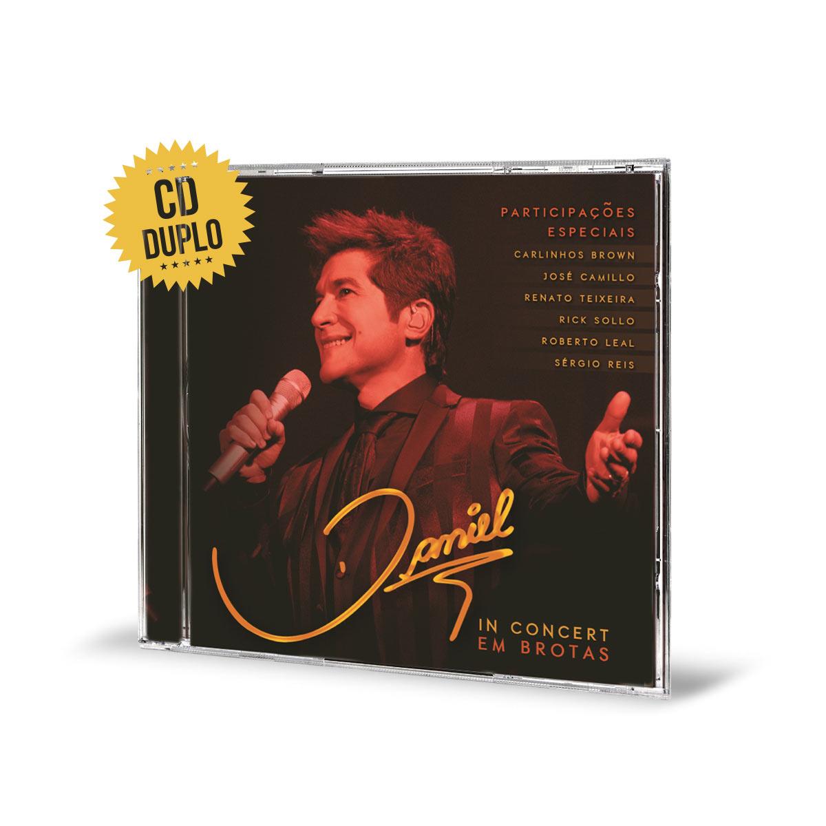 CD Duplo Daniel In Concert Em Brotas