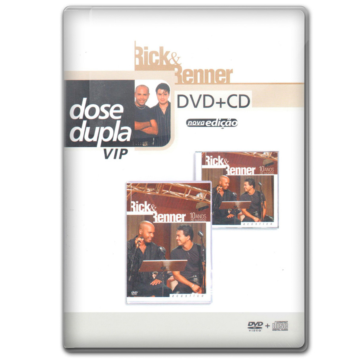 CD + DVD Rick & Renner 10 Anos de Sucesso