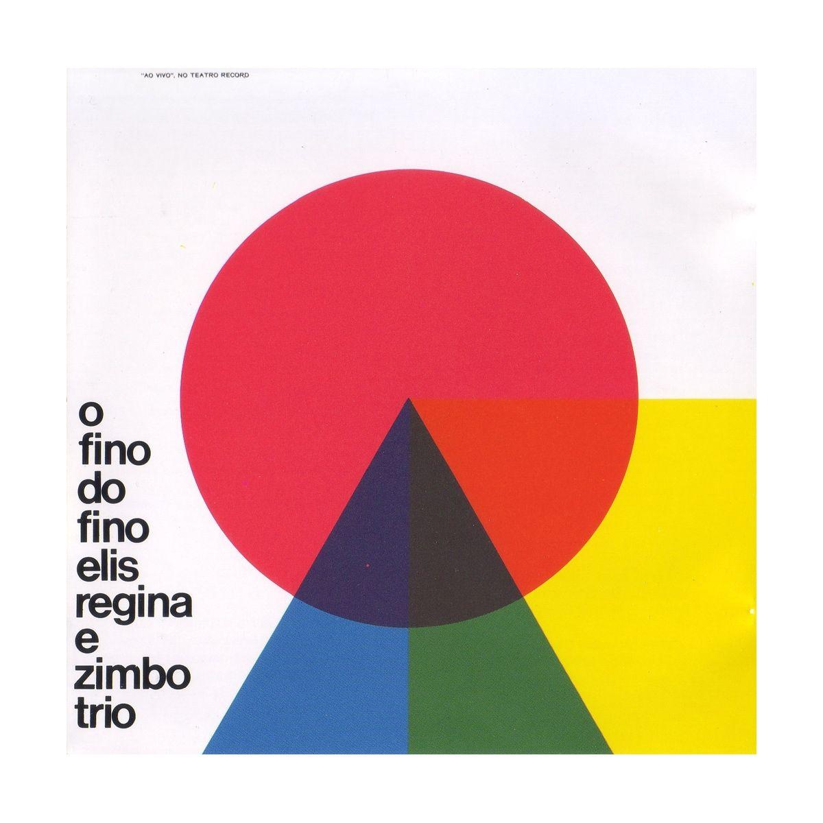 CD Elis Regina O Fino Do Fino