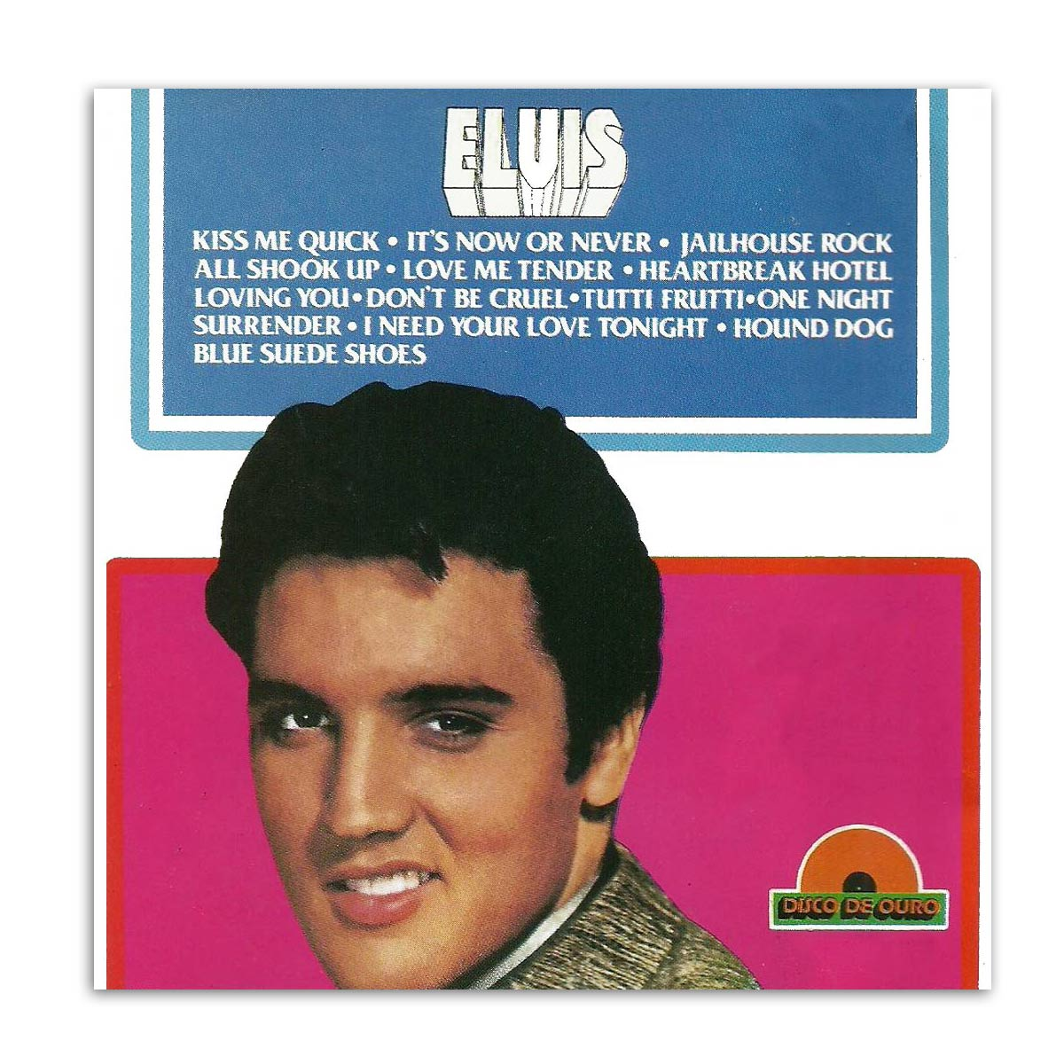 CD Elvis - Disco de Ouro