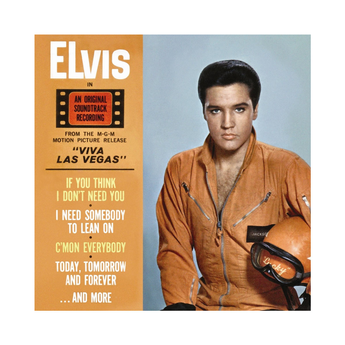 CD Elvis Viva Las Vegas TV Special