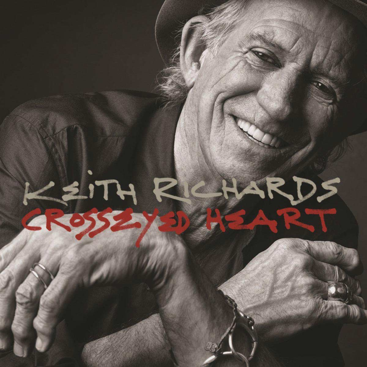 CD Keith Richards Crosseyed Heart