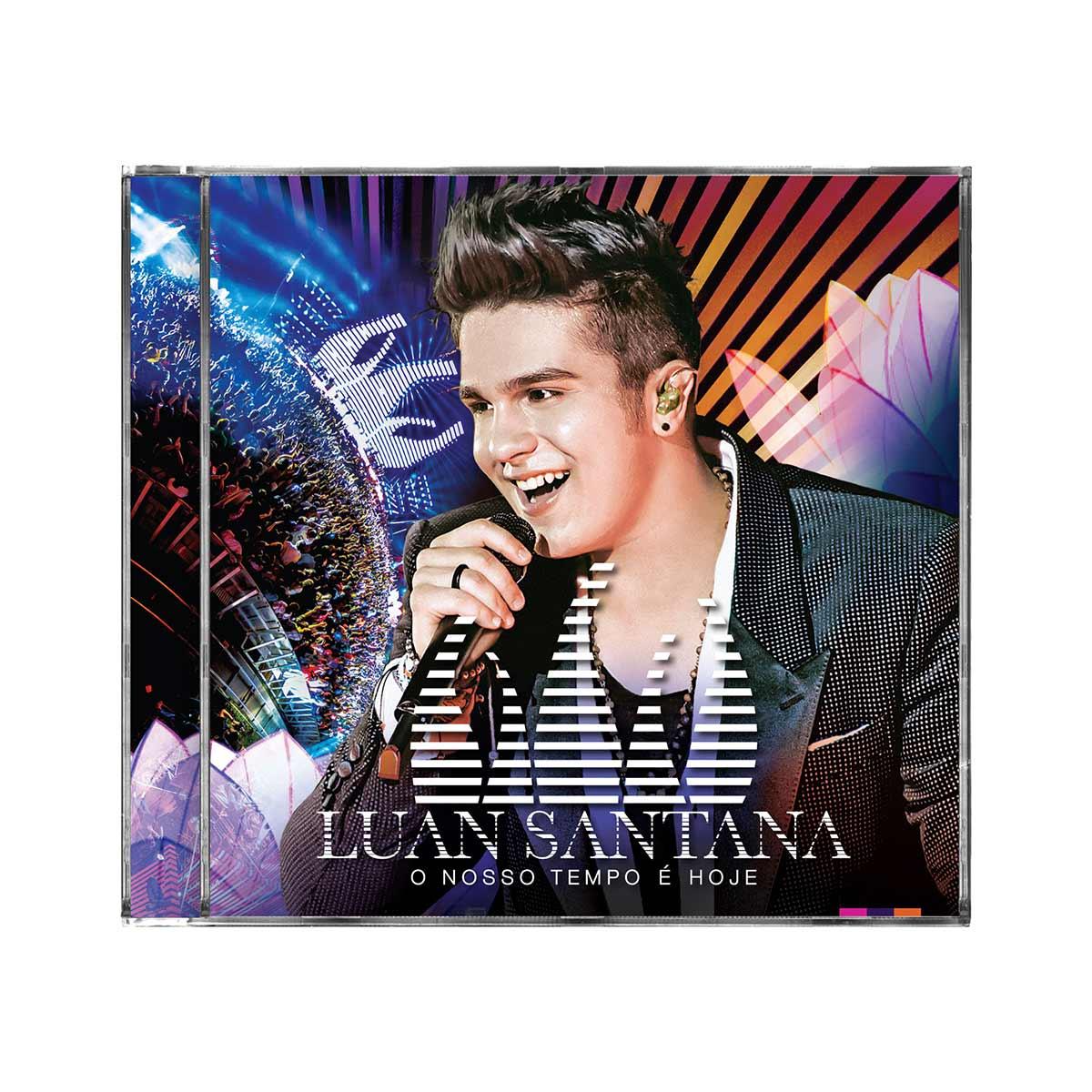 CD Luan Santana O Nosso Tempo é Hoje