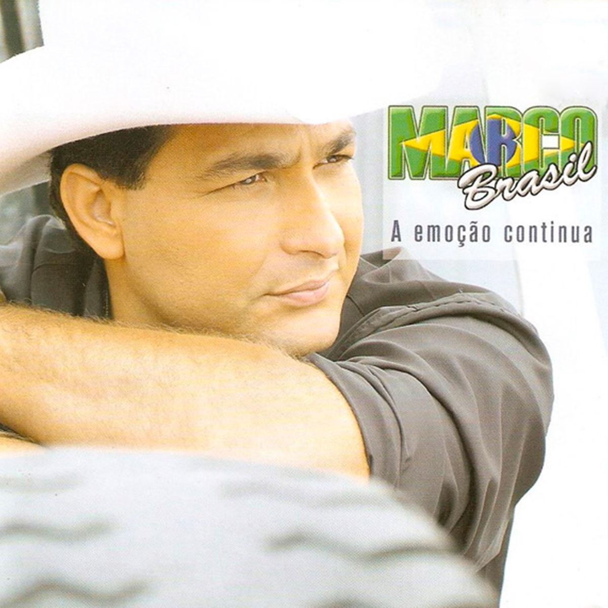 CD Marco Brasil A Emoção Continua