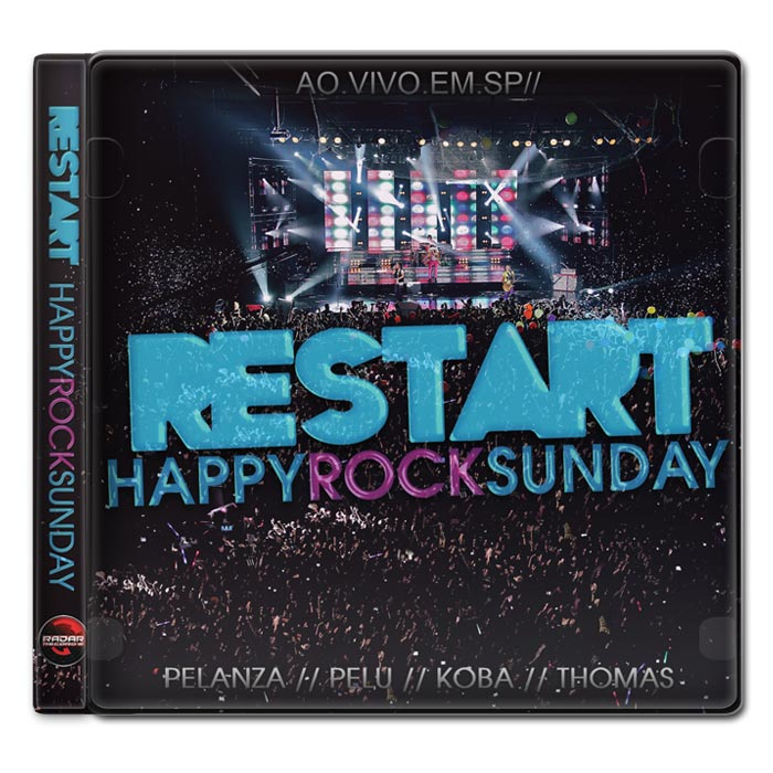 CD Restart Happy Rock Sunday Ao Vivo Em SP