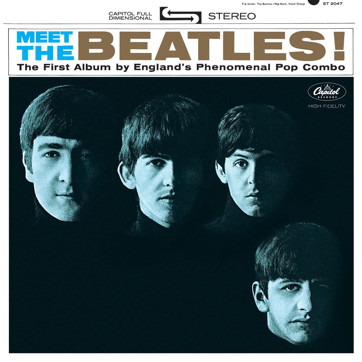 CD Meet The Beatles