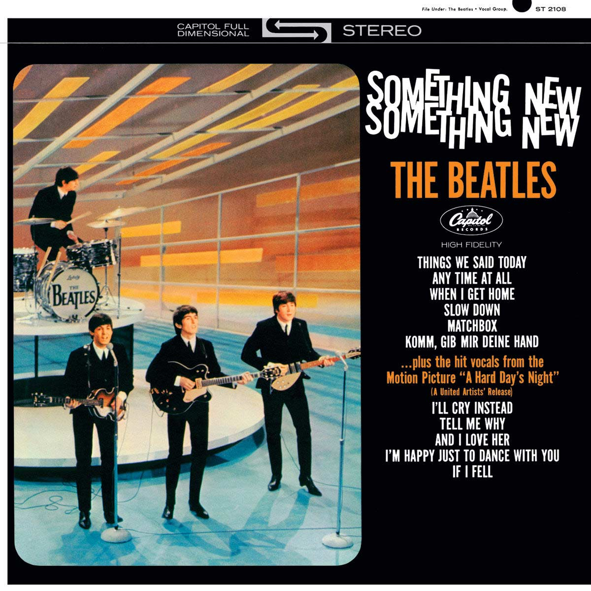 CD The Beatles Something New