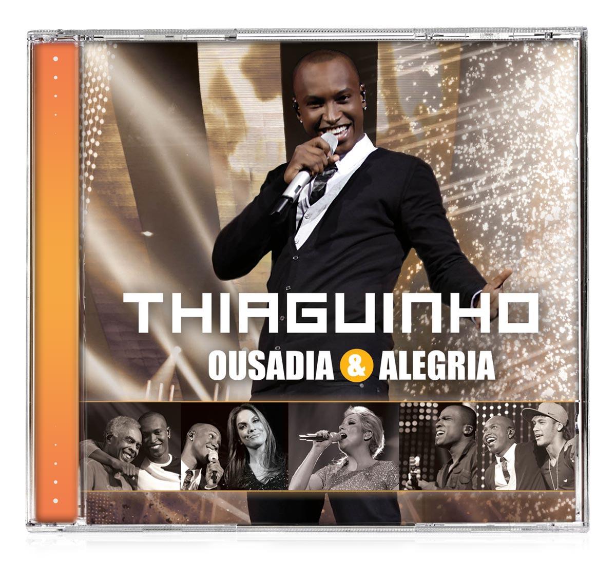 CD Thiaguinho - Ousadia  Alegria