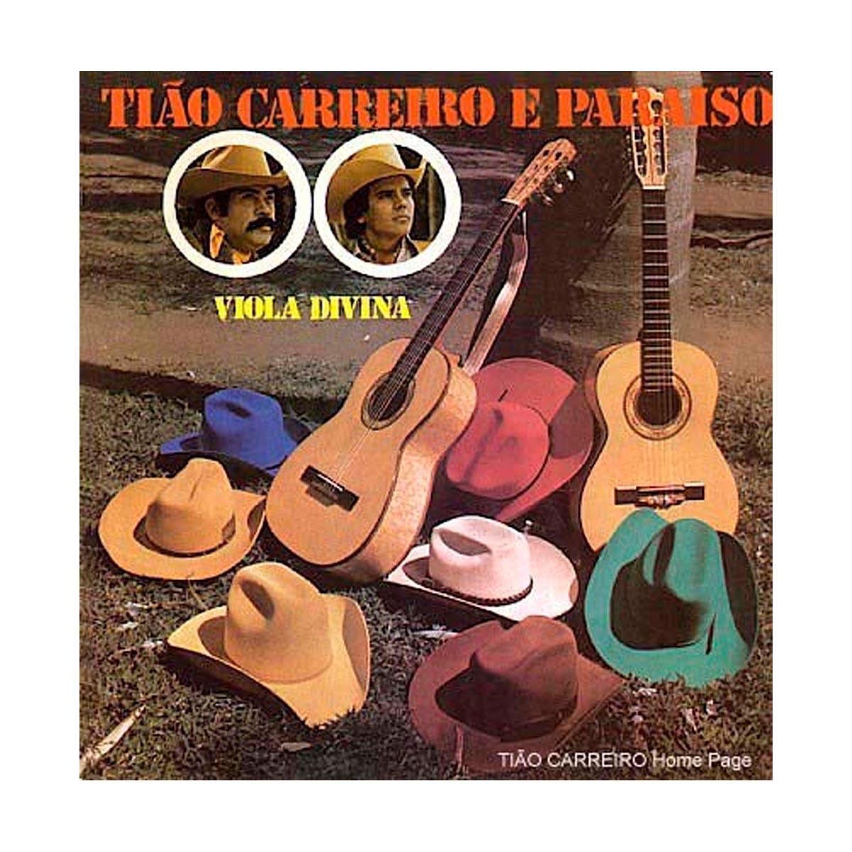 CD Tião Carreiro & Paraíso Viola Divina