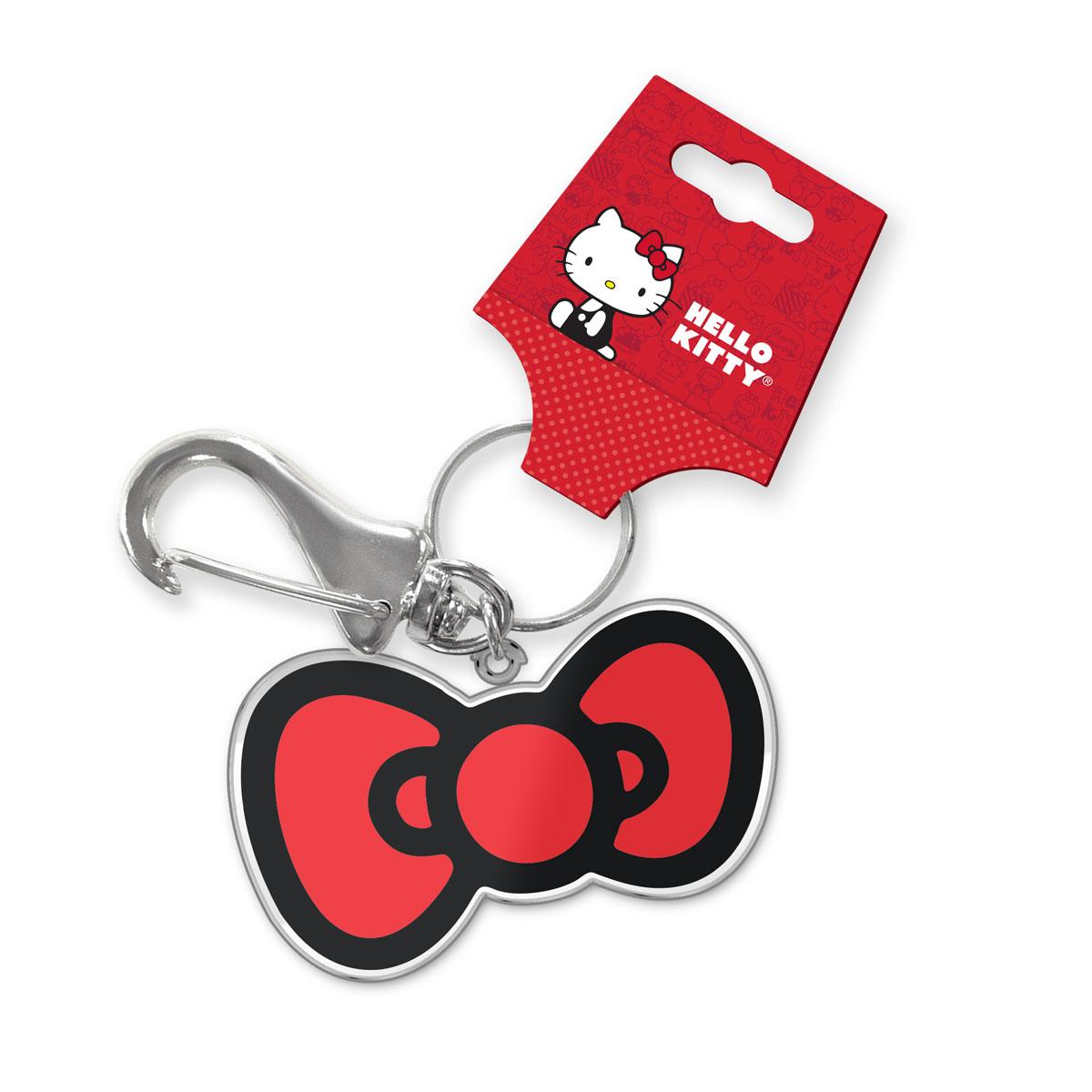 Chaveiro de Metal Hello Kitty Laço