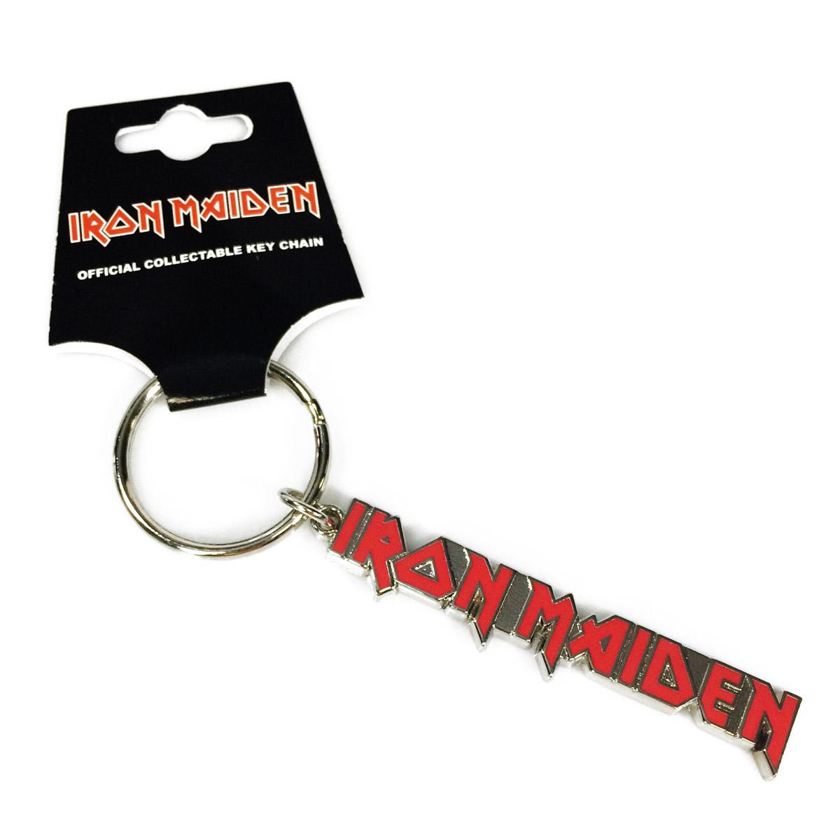 Chaveiro de Metal Iron Maiden Logo