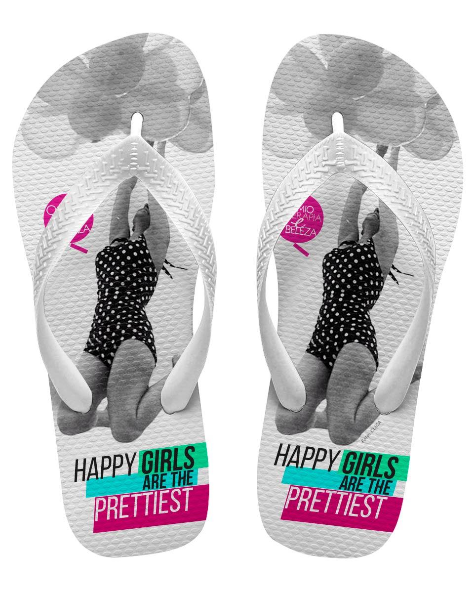 Chinelo Masculino QeB Happy Girls