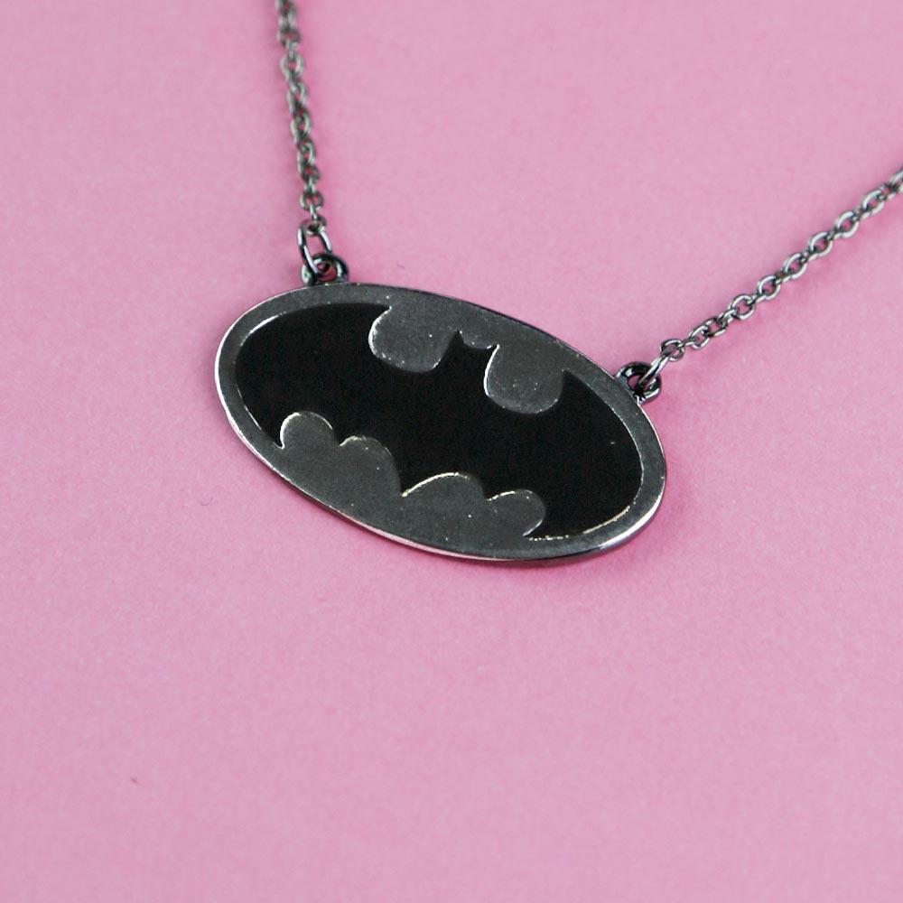 Colar Grafite Batgirl