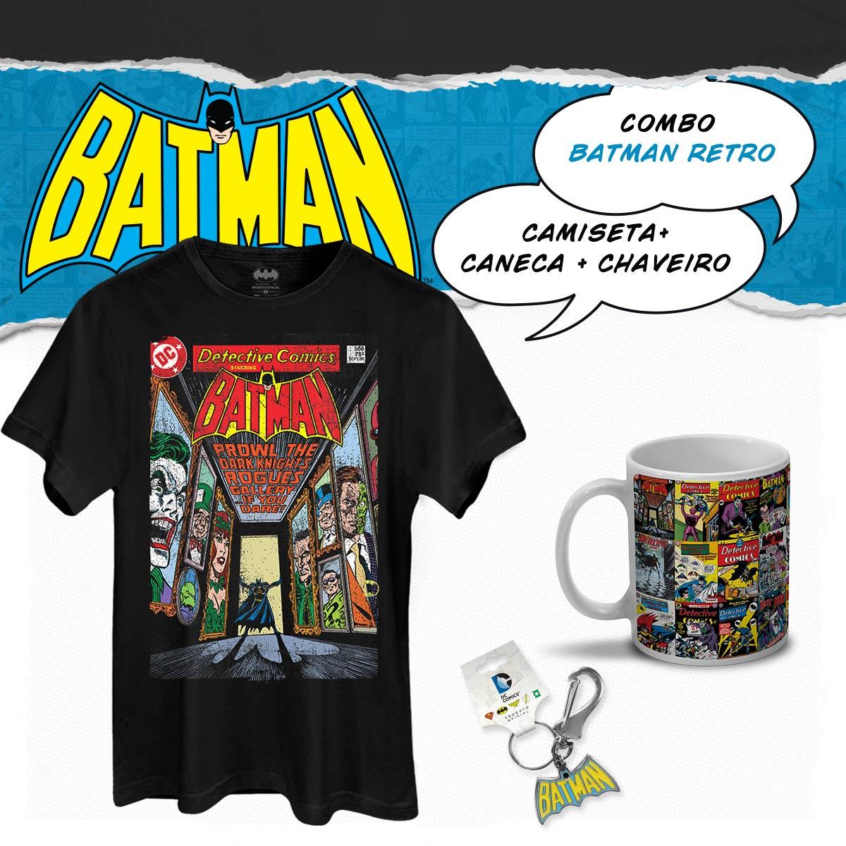 Combo Batman Day Retro