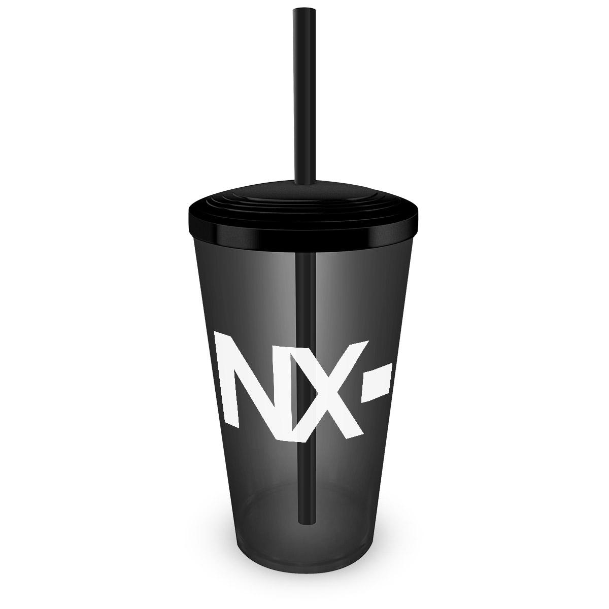 Copo Acrílico Fumê NXZero Logo