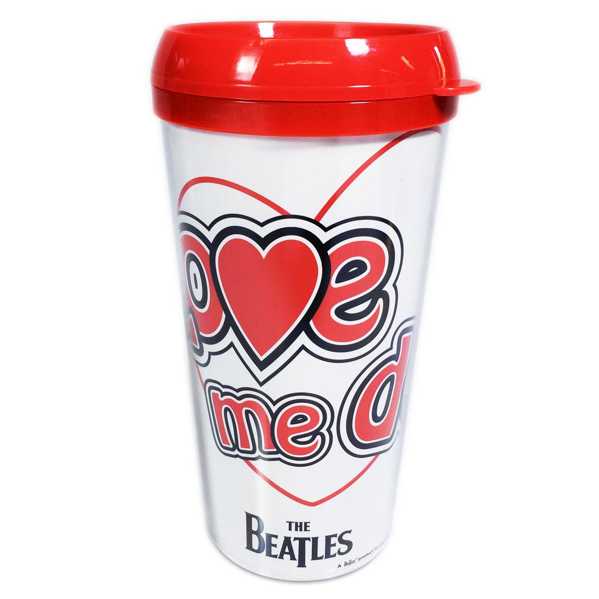 Copo Com Tampa The Beatles Love Me Do