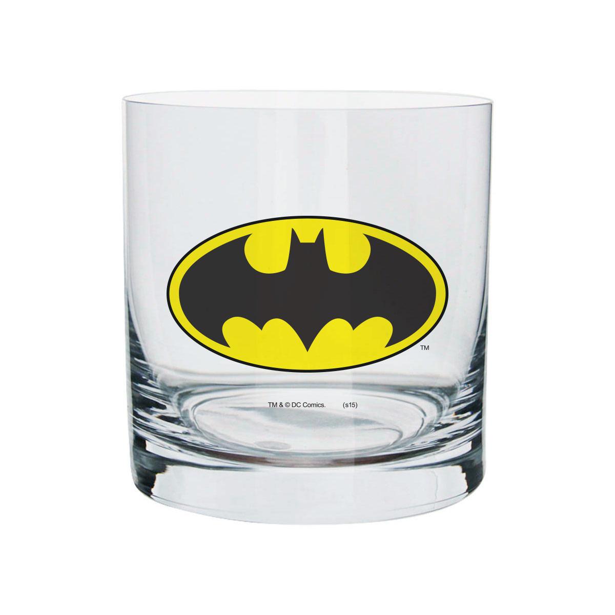 Copo Para Whisky Batman Logo