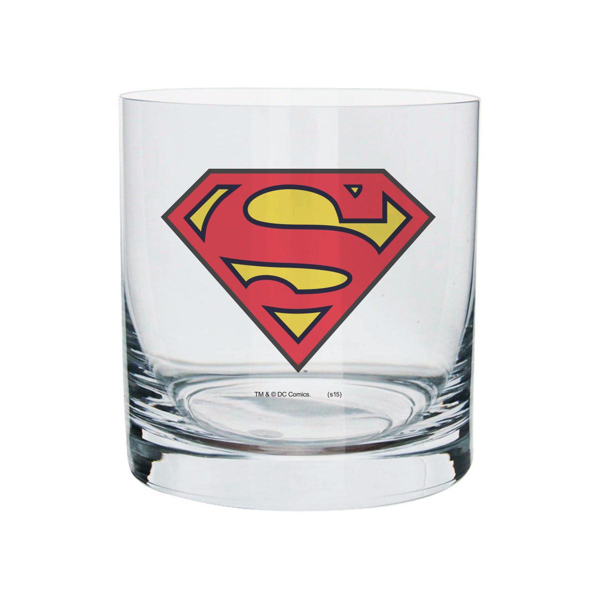 Copo Para Whisky Superman Logo