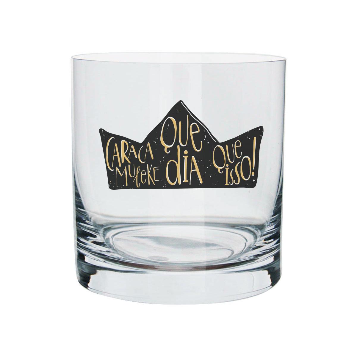 Copo Para Whisky Thiaguinho Caraca Muleke!