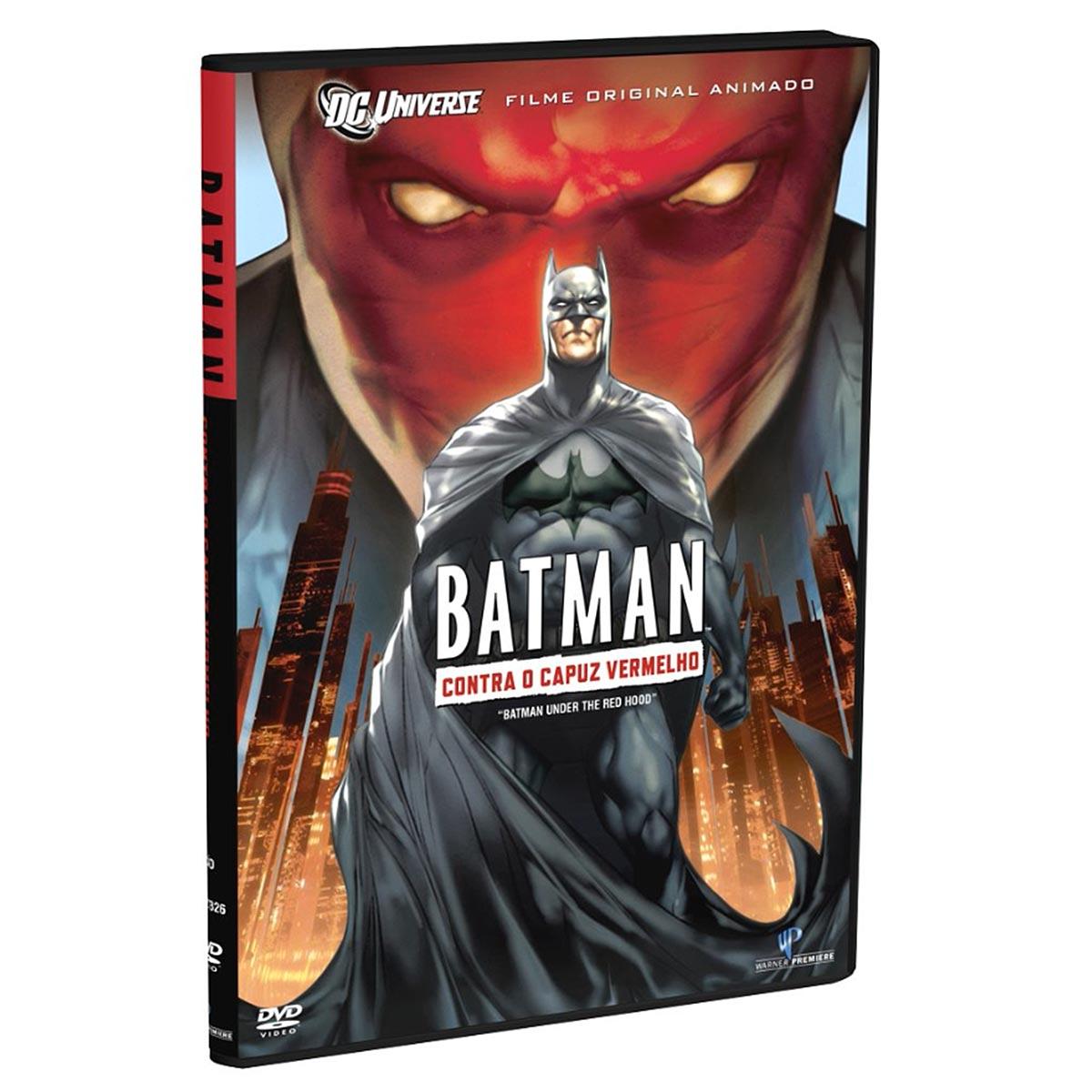 DVD Batman: Contra o Capuz Vermelho