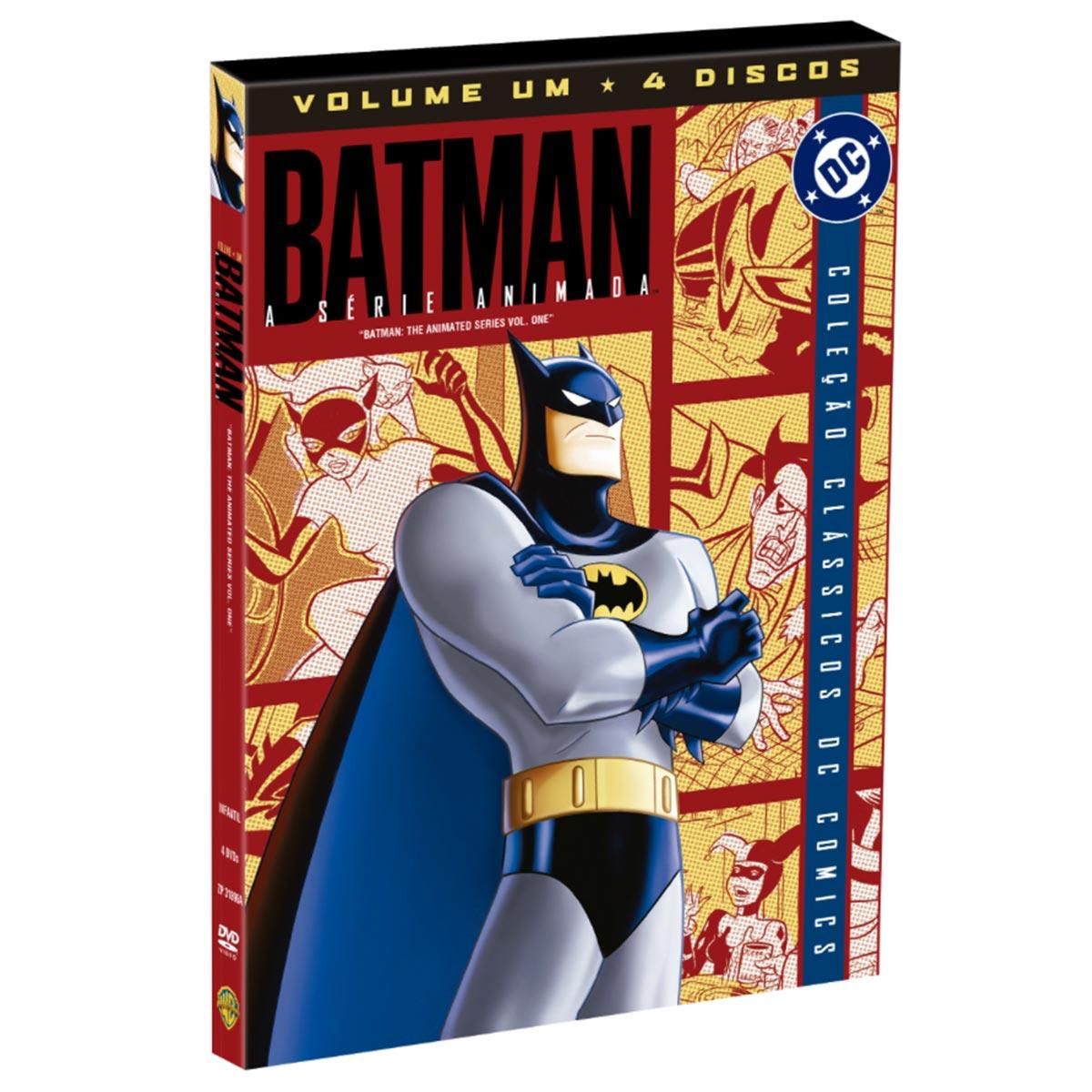 DVD Batman O Desenho em Série Volume 1