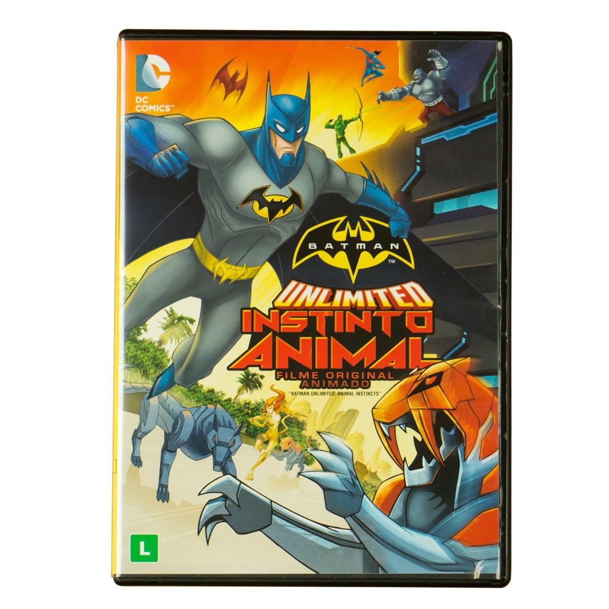 DVD Batman Unlimited Instinto Animal