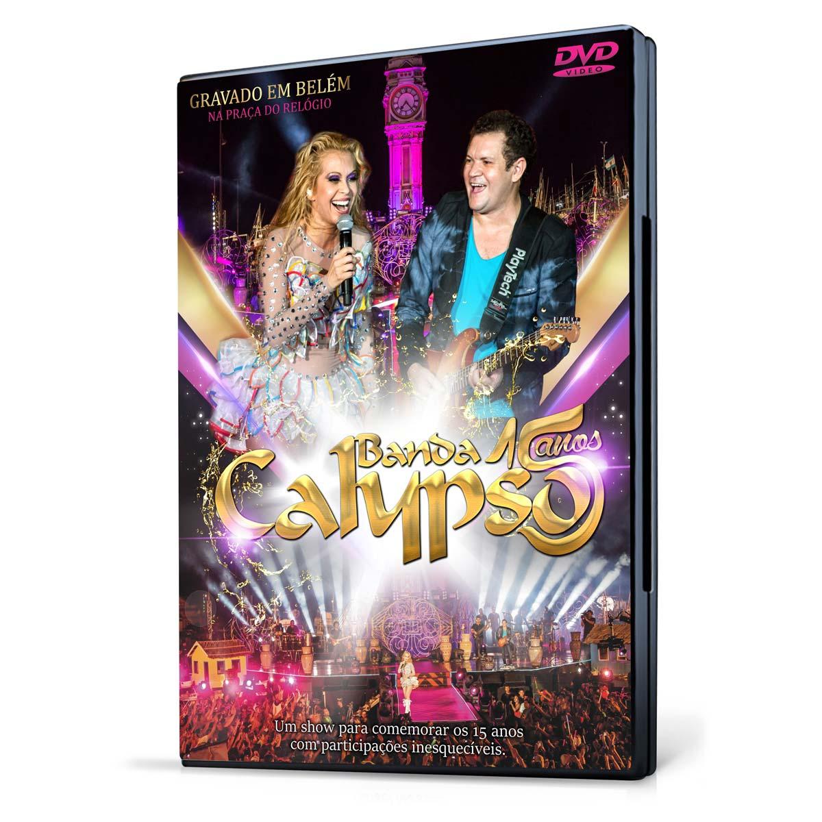 DVD Calypso 15 Anos
