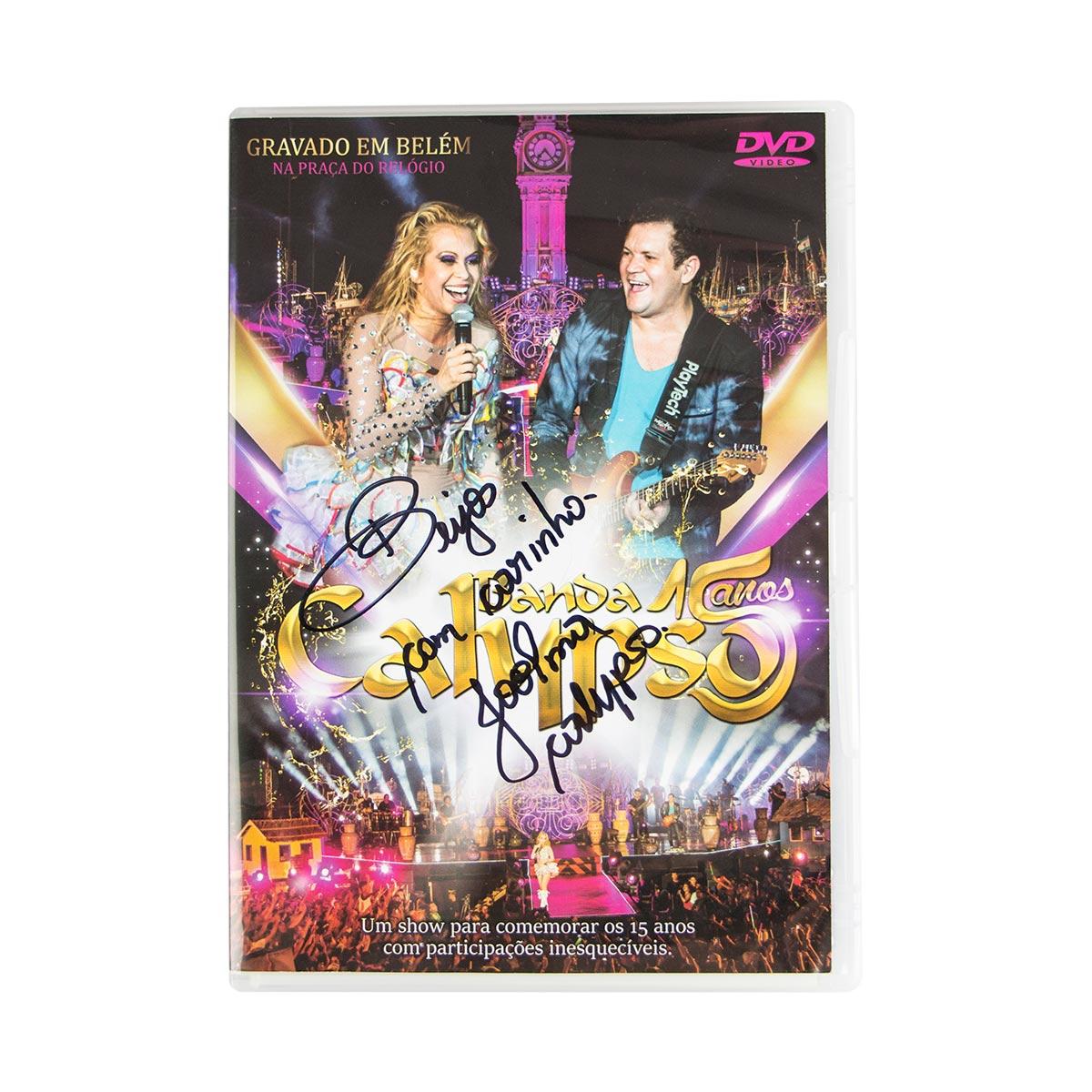 DVD Calypso 15 Anos AUTOGRAFADO pela Joelma