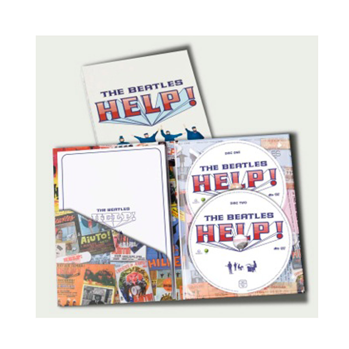 DVD Duplo The Beatles - Help