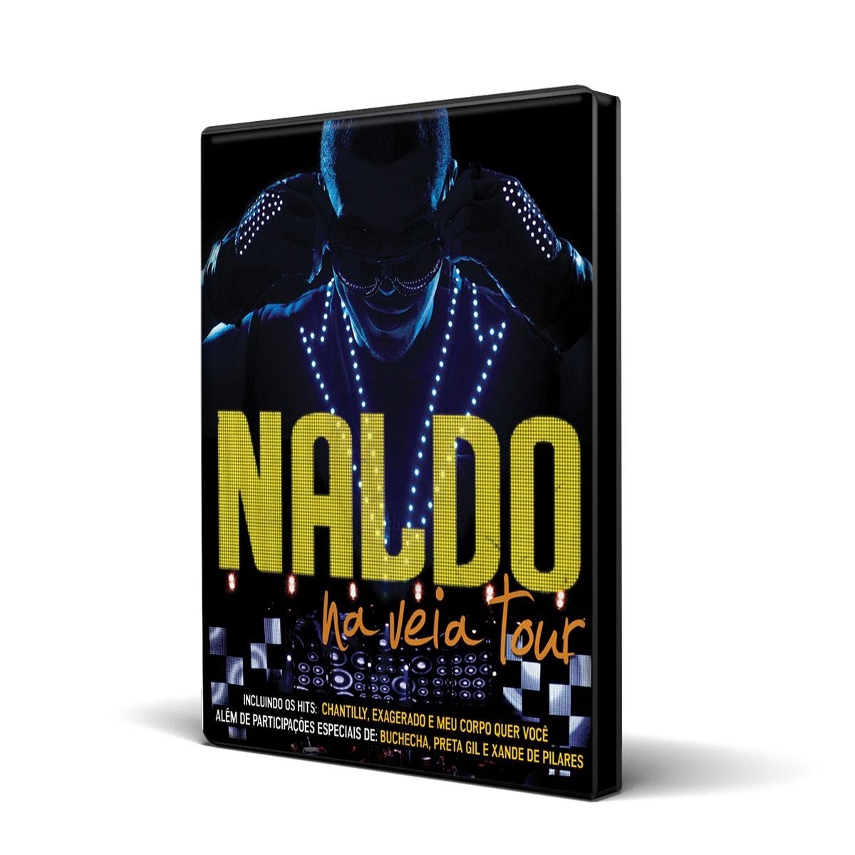 DVD Naldo Benny Na Veia Tour