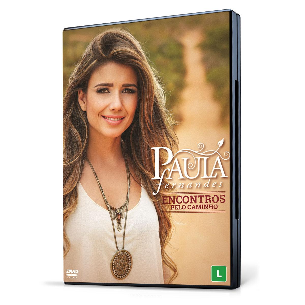 DVD Paula Fernandes Encontros Pelo Caminho