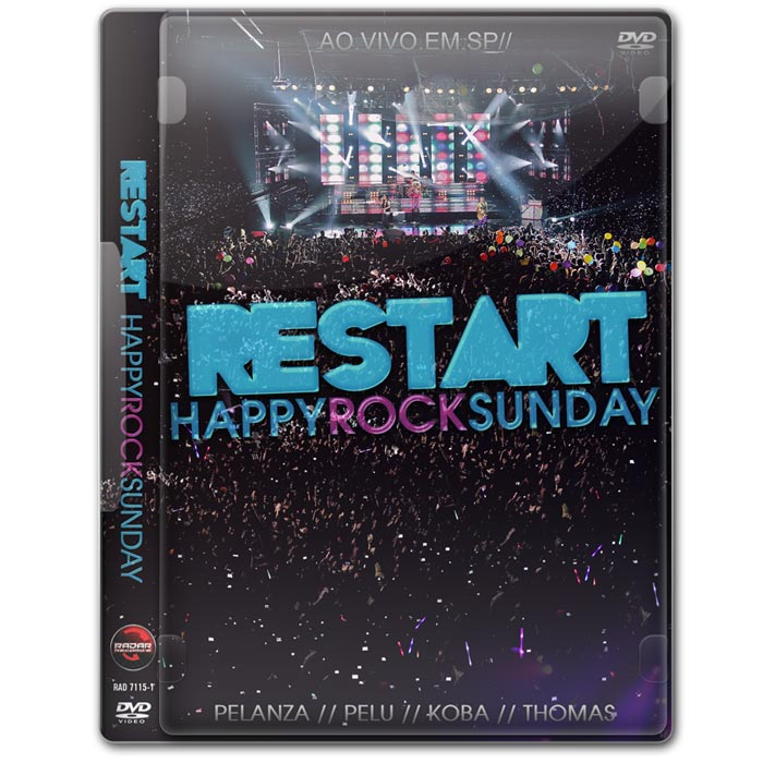 DVD Restart Happy Rock Sunday - Ao Vivo Em SP