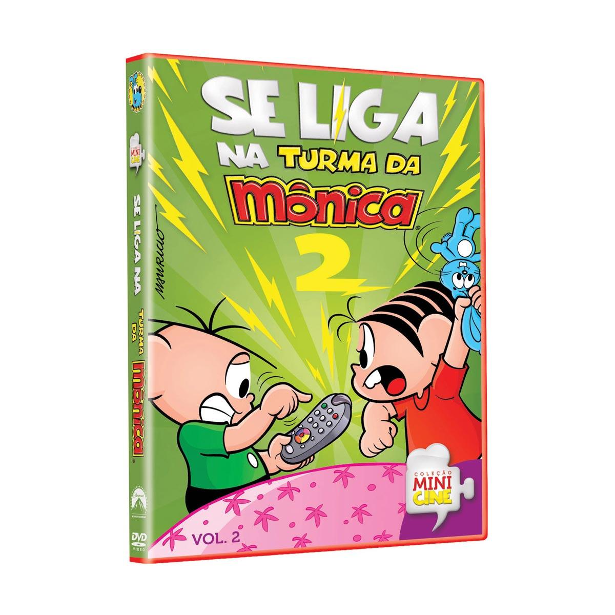 DVD Se Liga na Turma da Mônica Vol.2