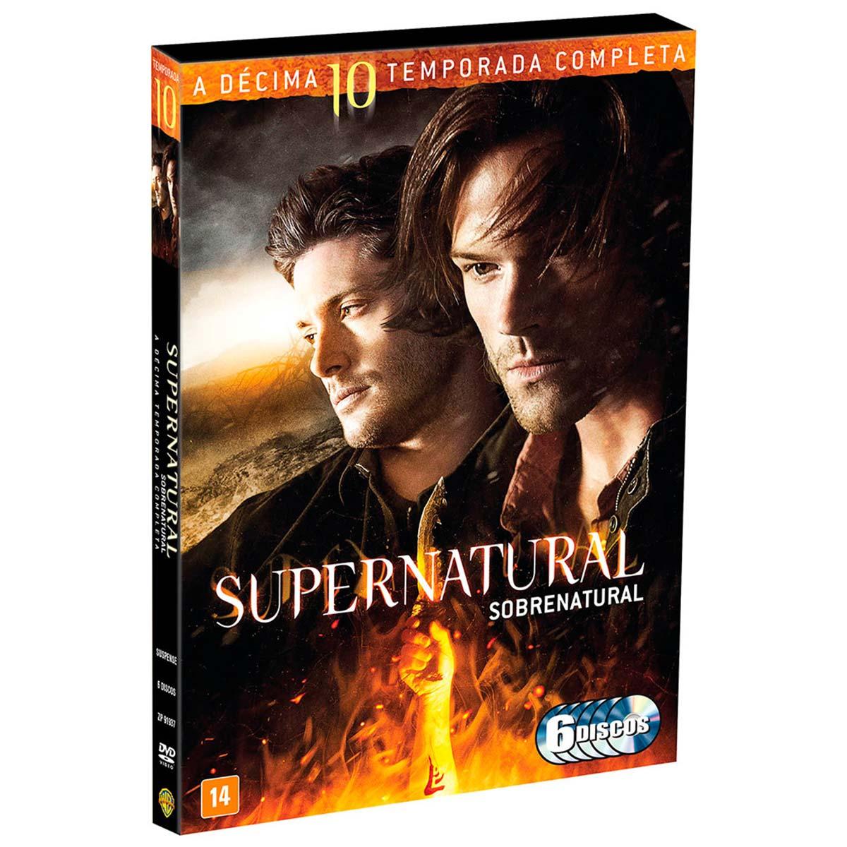 DVD Supernatural A Décima Temporada Completa