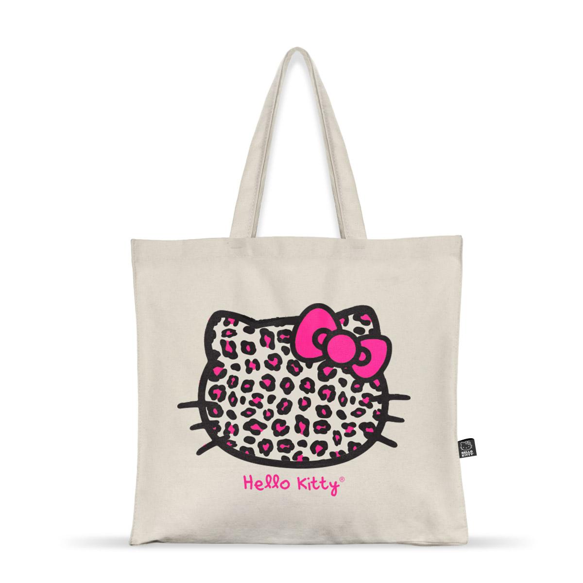 Ecobag Hello Kitty Animal Print