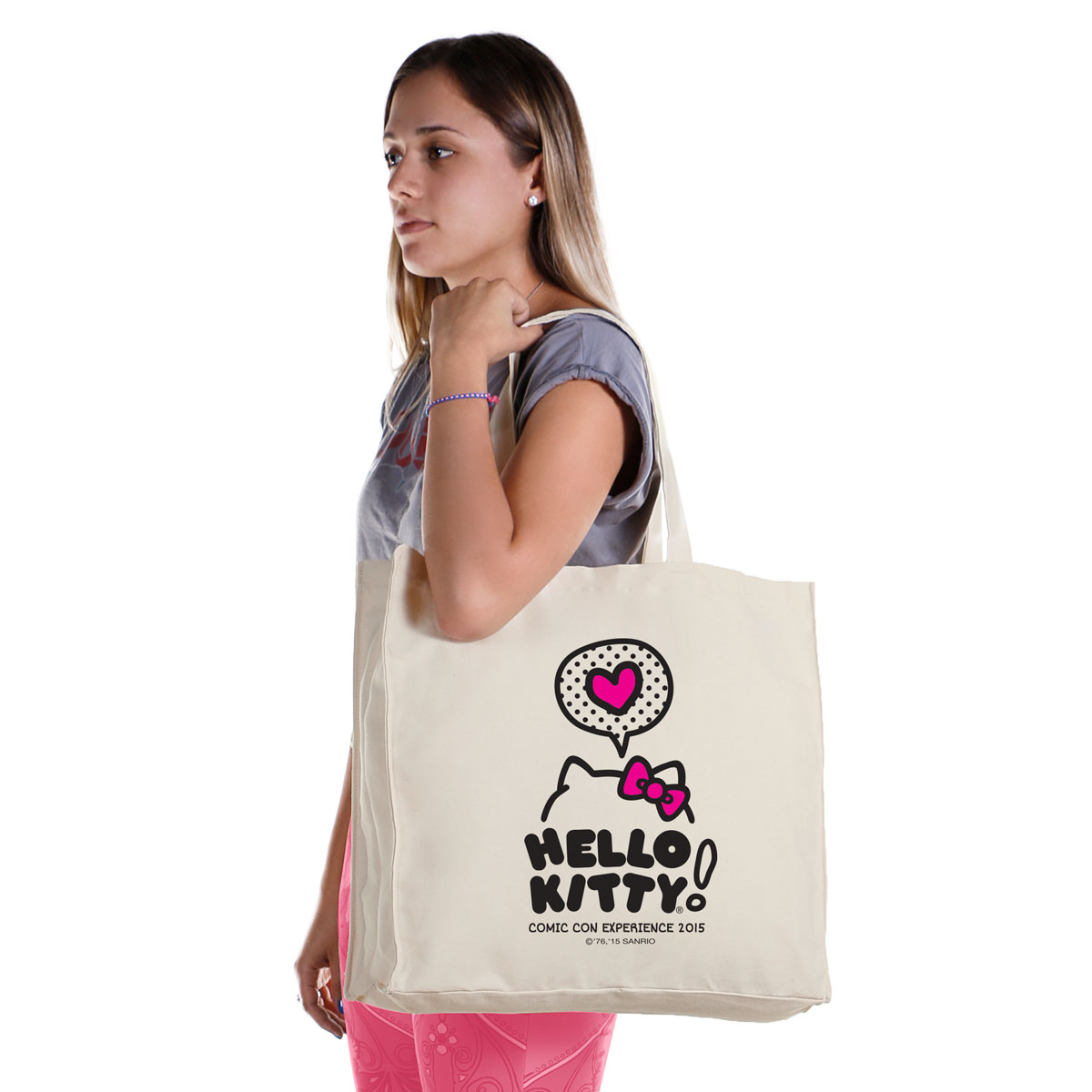 Ecobag Hello Kitty Heart Comic Con
