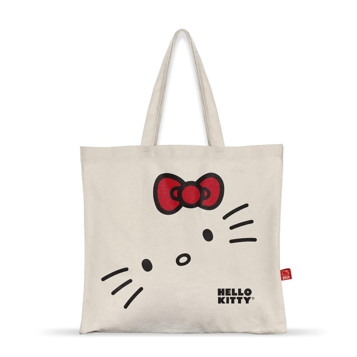 Ecobag Hello Kitty White