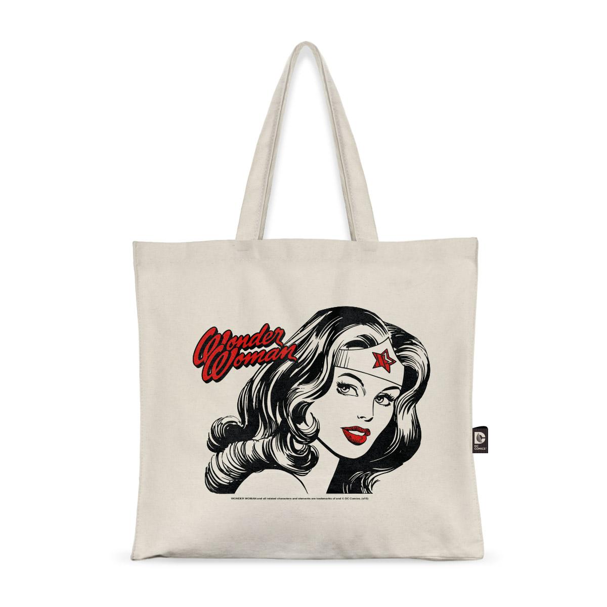 Ecobag Wonder Woman Fashion